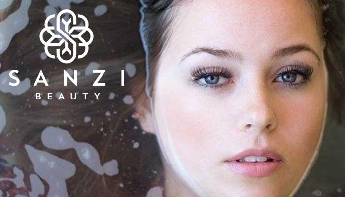 Sanzi Beauty Wimpernserum Test